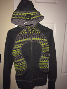 Grey Special Edition Lulu Hoodie Size 4