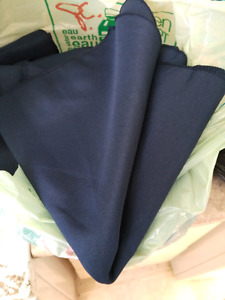 Navy cloth napkins