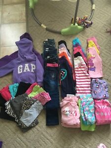 Size 4 girl's clothes - all seasons