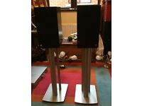 Speakers and stands for sale