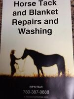 Horse blankets repairs and washing