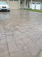 The Concrete Guys - Stamped Patio!!!!!