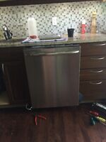 maytag stainless  steel dishwasher lave vaiselle innox
