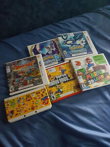 'new' 3DS w/ games