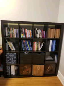 Black Wall Unit | Buy or Sell Bookcases & Shelves in Toronto (GTA ...