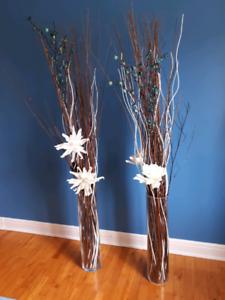 Vases avec décoration