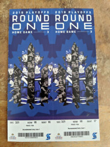 Leafs vs Bruins Game 6  - 2 Tickets - Sunday April 21