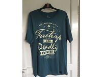 Men's firetrap T-shirts two off