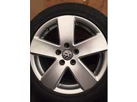 """17"""" Passat sport alloy wheels 5/112 caddy touran Jetta golf mk5/6/7"""