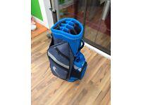 Nike golf bag trolley bag
