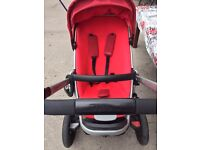 Quinny push chair, pram, car seat and baby cot