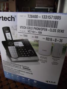 Téléphone répondeur sans fils & système de surveillance