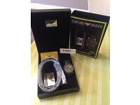 Armani watch set