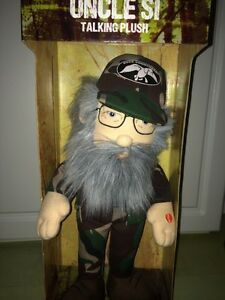 Collectable Duck commander uncle SI talking plush doll Edmonton Edmonton Area image 3