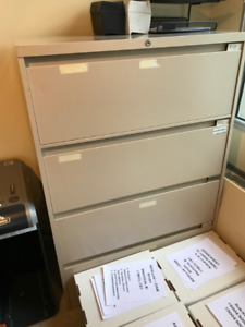 Medical Filing Cabinet with Lock
