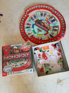 Cars 2 Monopoly game