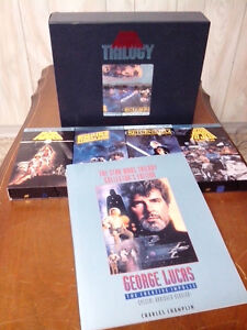 Star Wars Trilogy Letterbox VHS Collector's Edition Windsor Region Ontario image 1