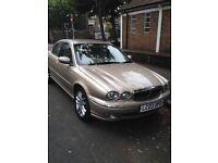 Jaguar X type beige 2.0 L V6 2003 excellent condition