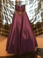 Beautiful purple dress for any occasion