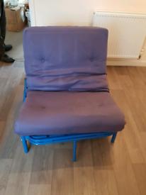 Single fold out futon