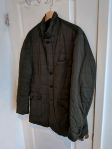Massimo Dutti - Olive Green Fall/Early Winter Coat