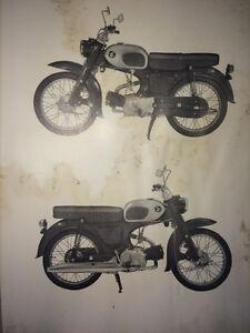 1967 Honda 90 C200 Parts Book Regina Regina Area image 2