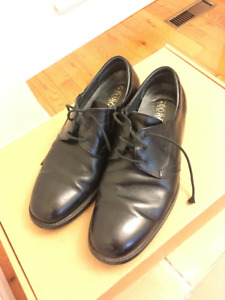 Black Leather Dress Shoes (44)