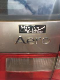 Saab 95 aero hot maptune exhaust system