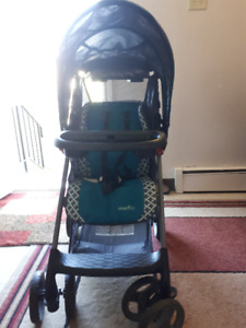 evenflo Stroller and Carseat