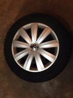 Volkswagen Mk4 Golf/Jetta/New Beetle Winter Wheel/Tire set