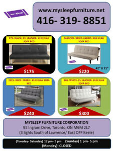 BRAND NEW- SOFAS, SECTIONAL SOFAS- DELIVERY- $25 AND UP