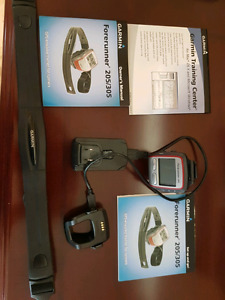 Garmin Forerunner GPS enabled trainer watch