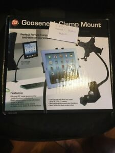 iPad/Tablet Adjustable Gooseneck Clamp