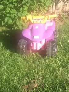 Little monster quad