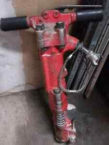 Air powered Jack hammer, marteau piqueur pneumatique