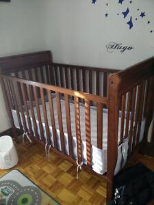 Lit de bébé couchette Graco modèle Sarah