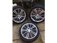 GENUINE BMW 'MV3' 18 inch Alloys.