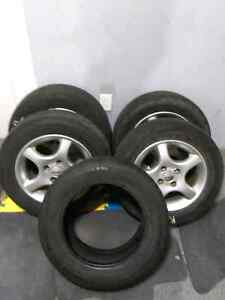 185/65R14 Michelin tires and alloy rims