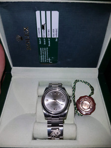 *TRADE* ROLEX DOMINOS Oyster Prepeutal Air King 114200