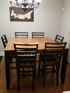Pub Height Table Chairs