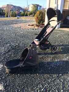 Phil & Ted Stroller, New Born Bassinet and Graco Car Seat combo