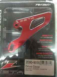 New Drive Cover for Kawasaki KX  - Motocross accessory - Red