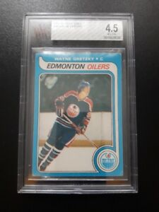 BECKETT GRADED 4.5 WAYNE GRETZKY OPC ROOKIE CARD