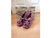 Irregular choice shoes size 5 BNIB