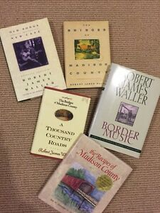 Robert James Waller books..