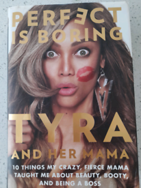 Signed Tyra book