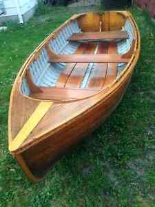 """10'6"""" wooden boat"""
