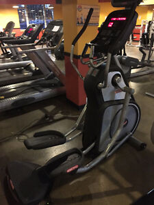 STARTRAC Pro Elliptical exercise machine with LCD Screen