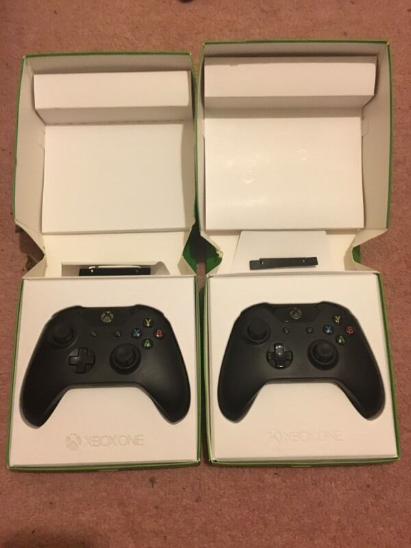 Two Used Xbox One Controller Boxed