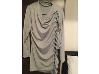 New grey cardigan size 12/14